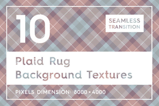 10 Plaid Rug Background Textures