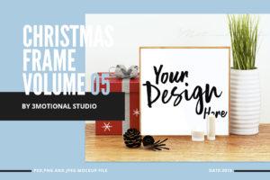 Christmas Frame Mockup Volume 05