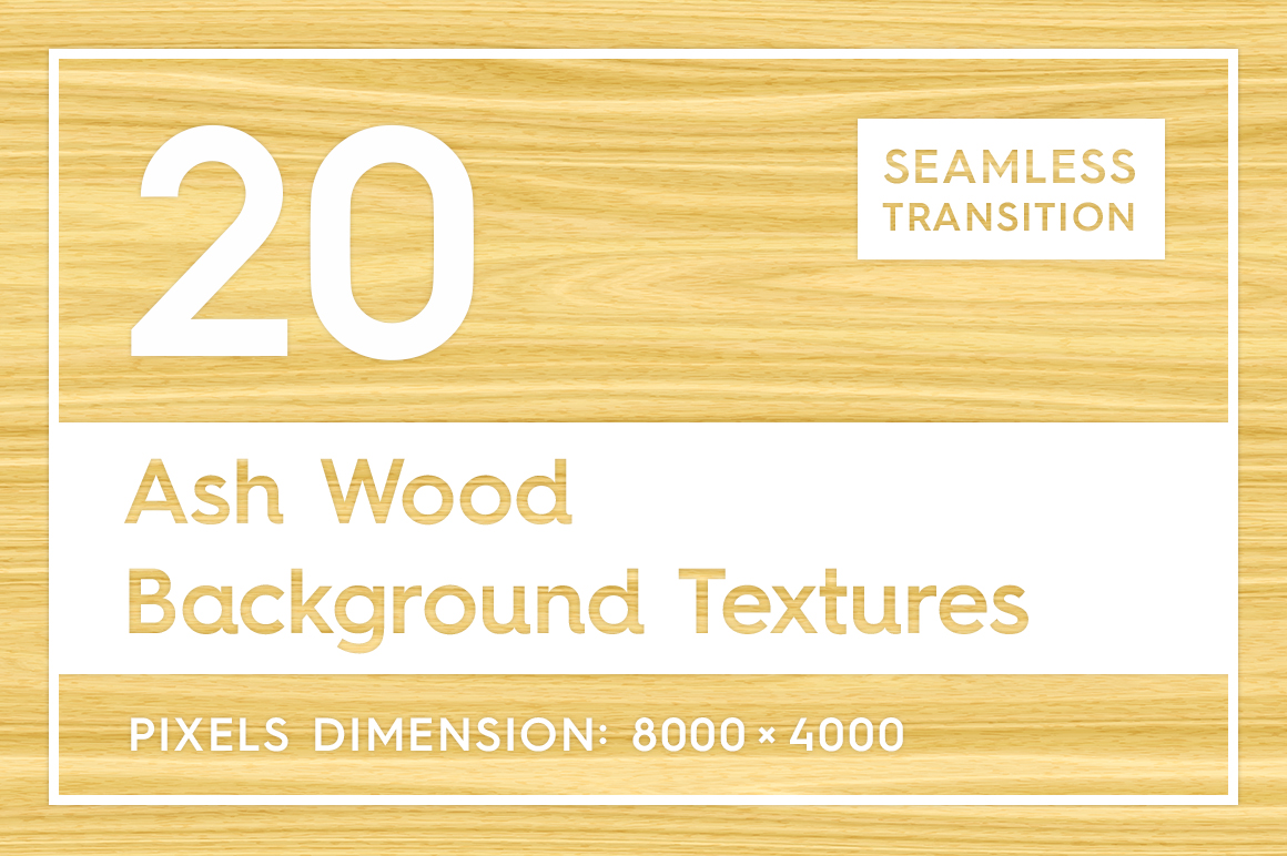 20 Ash Wood Background Textures