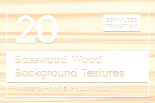 20 Basswood Wood Background Textures