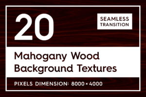 20 Mahogany Wood Background Textures
