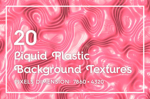 20 Liquid Plastic Background Textures