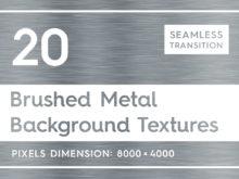 20 Brushed Metal Background Textures