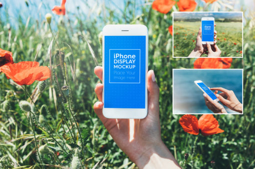 Phone / Smartphone Outdoor Mockups