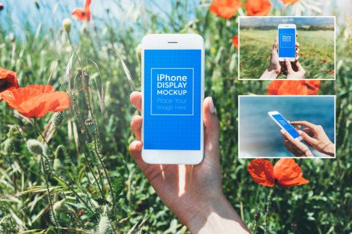 Phone / Smartphone Outdoor Mockups