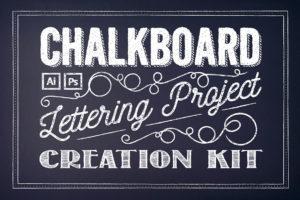 Chalkboard Lettering Project Kit
