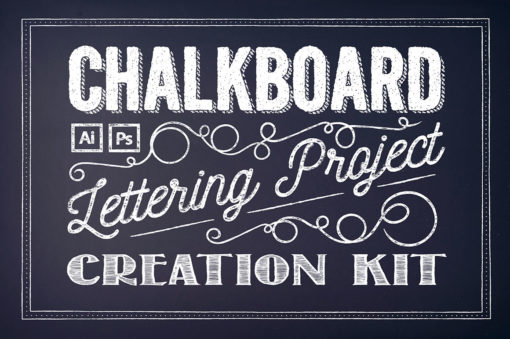Chalkboard Lettering Project Kit