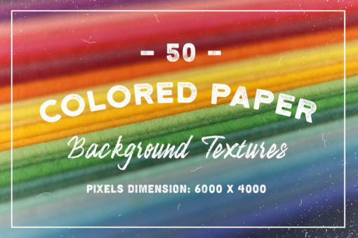 50 Colored Paper Background Textures