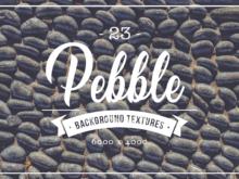 23 Pebble Background Textures