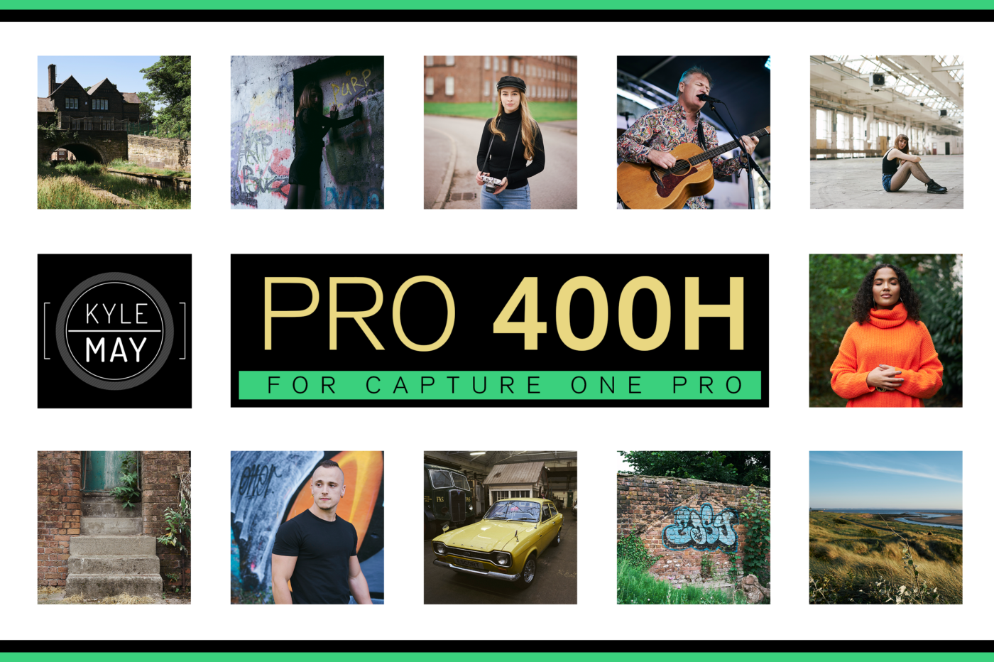 The Pro 400H Pack for Capture One Pro