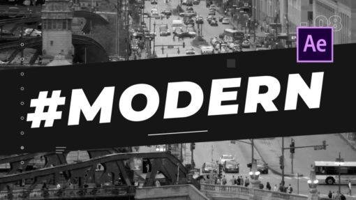 Bauhaus Minimal Opener After Effects Template