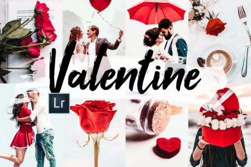 5x Valentine Lightroom Presets and ACR Presets
