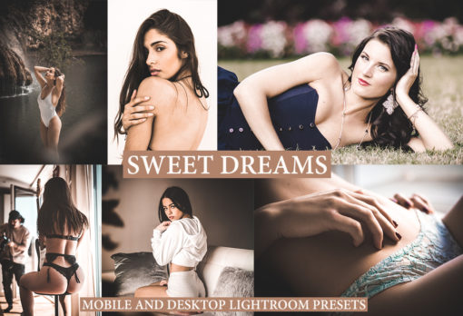 SWEET DREAMS Desktop and Mobile Lightroom Presets