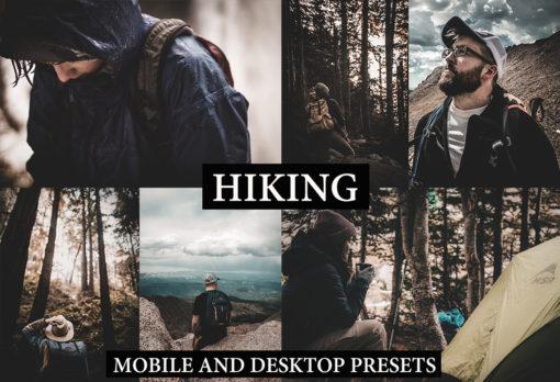 HIKING Desktop + Mobile Lightroom Presets