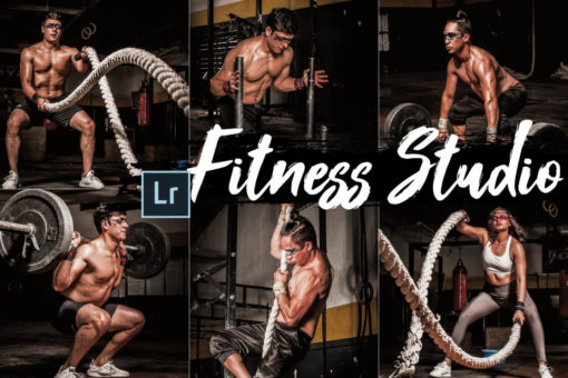 18 Fitness Studio Desktop Lightroom Presets