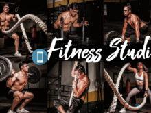 18 Fitness Studio Mobile Lightroom Presets
