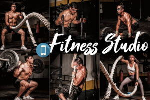 18 Fitness Studio Mobile Lightroom Presets