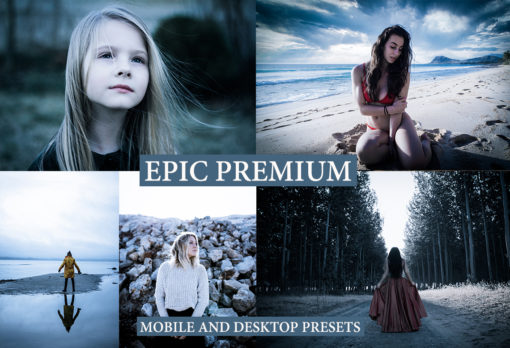 EPIC PREMIUM Desktop + Mobile Lightroom Presets