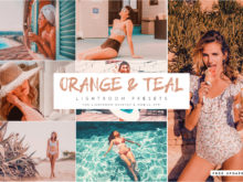Orange & Teal Lightroom Presets Bundle