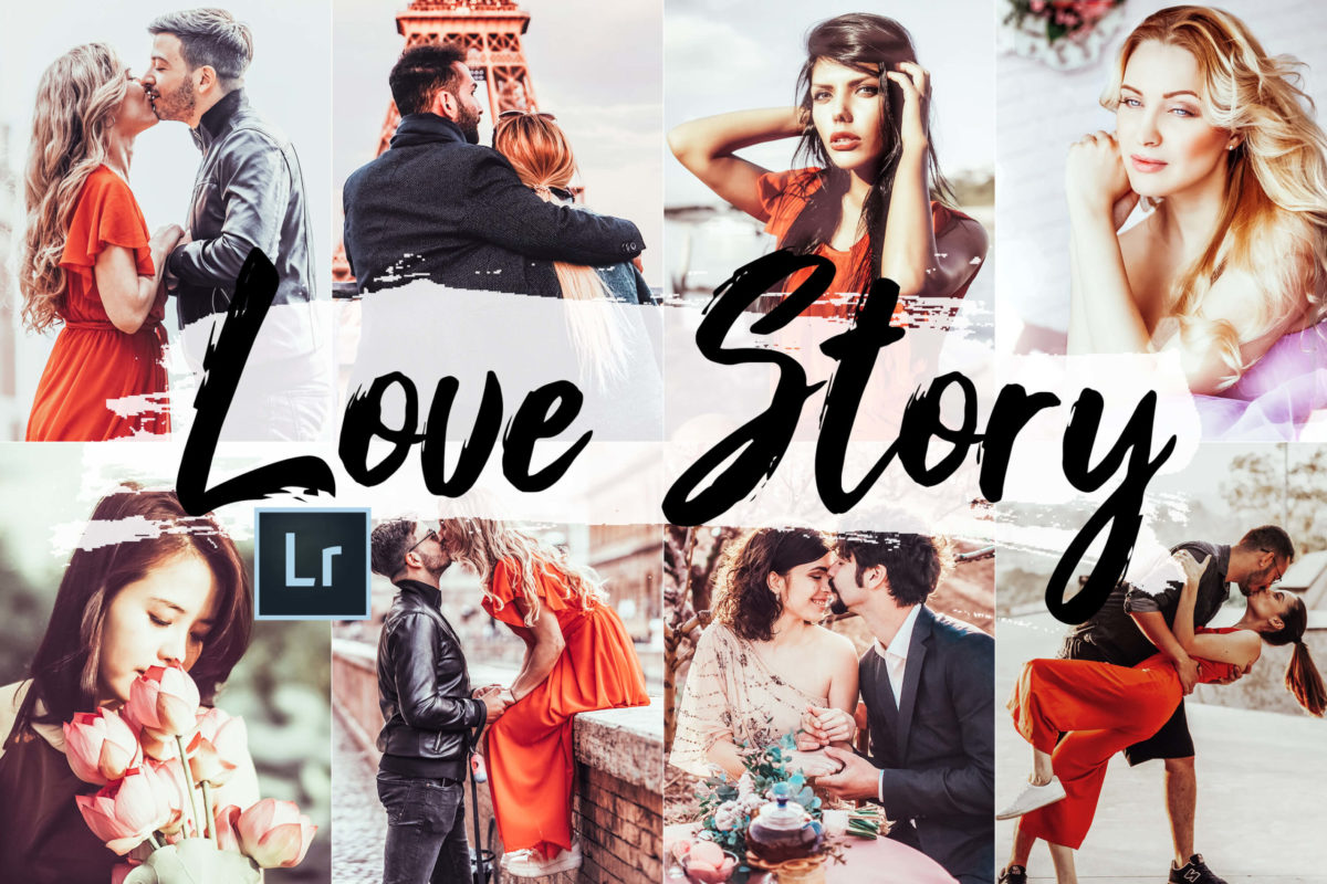 5x Love Story Desktop Lightroom Presets