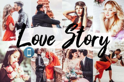 5x Love Story Mobile Lightroom Presets