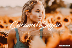 Caramel Sugar Lightroom Presets Pack for Desktop and Mobile