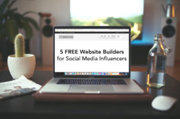 Cover - 5 Free Website Builders for Social Media Influencers - FilterGrade