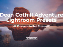 Dean Cothill Adventure Lightroom Presets (All Proceeds to Red Cross AU!)