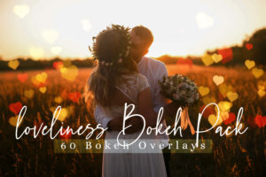 60 Loveliness Bokeh Pack Lights Photo Overlays