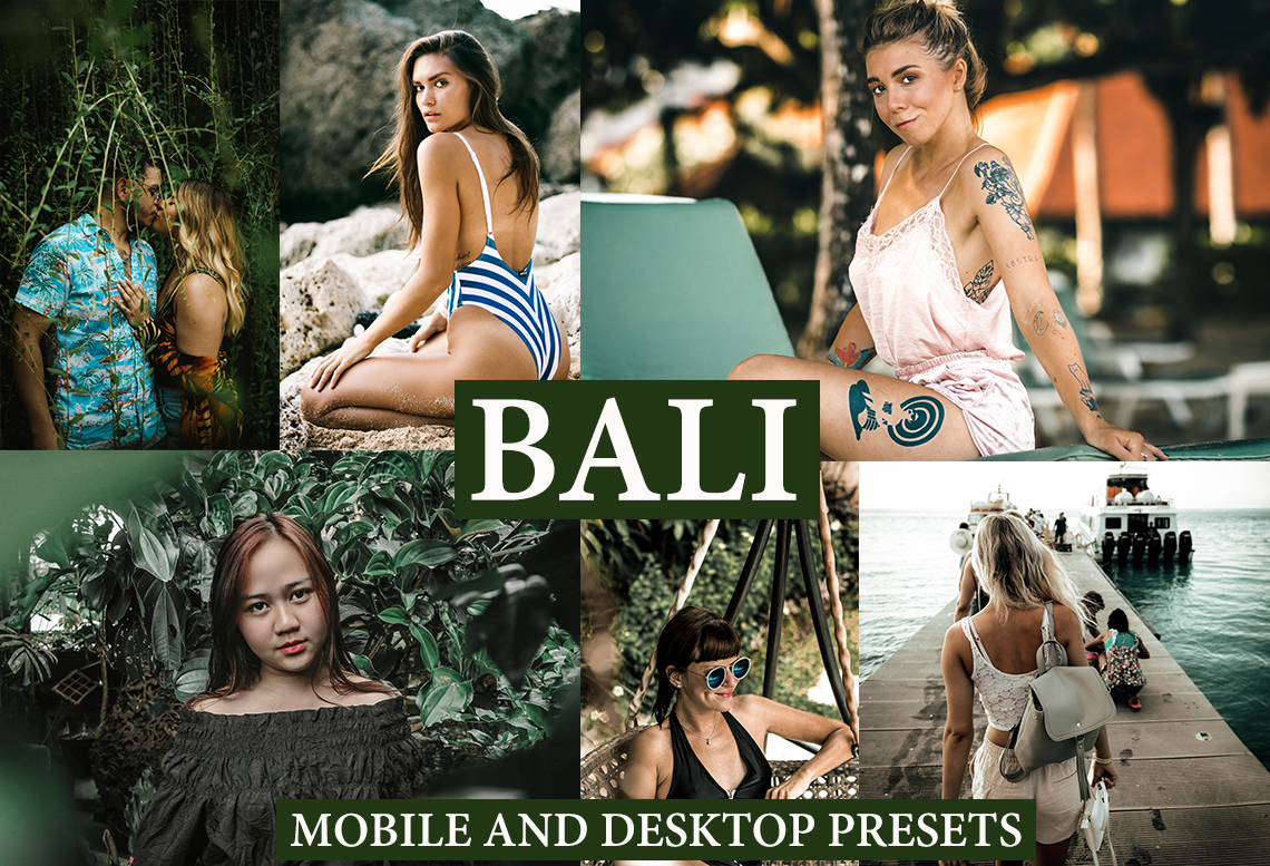 BALI Mobile and Desktop Lightroom Presets