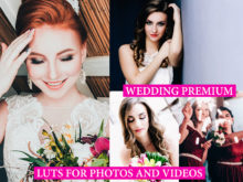 WEDDING FILM LUTs for Video