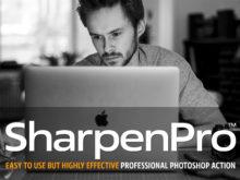 SharpenPro™ Photoshop Action
