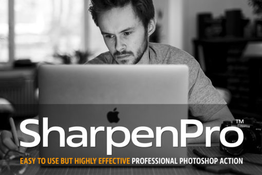 SharpenPro™ Photoshop Action