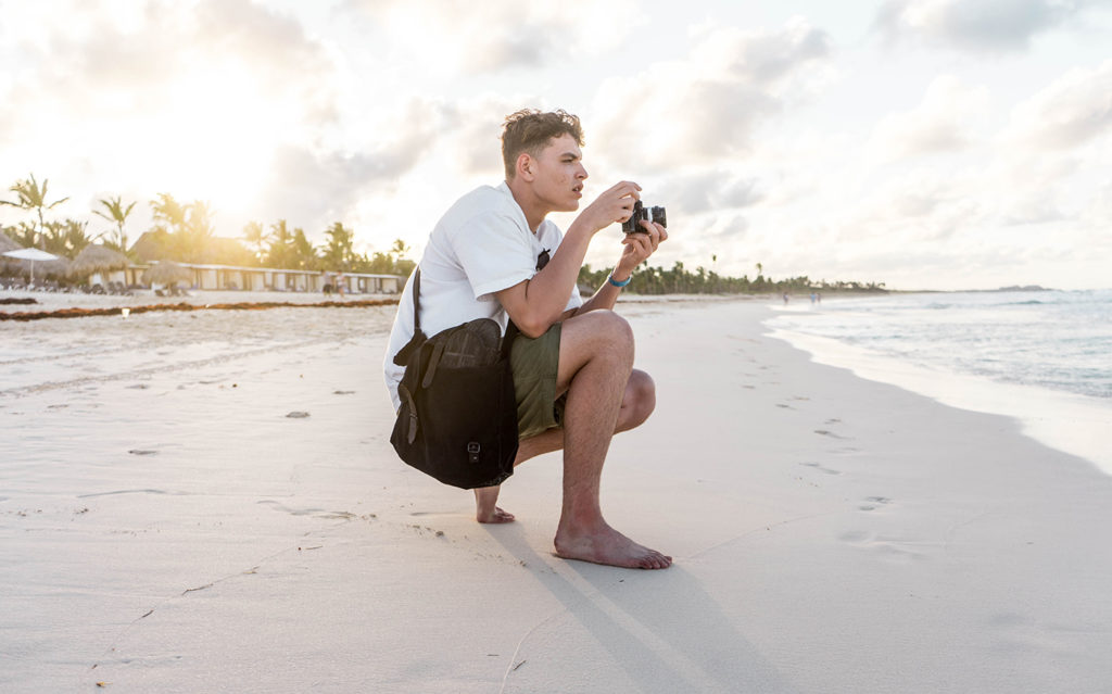 Matt with Nikon FE2 - FilterGrade