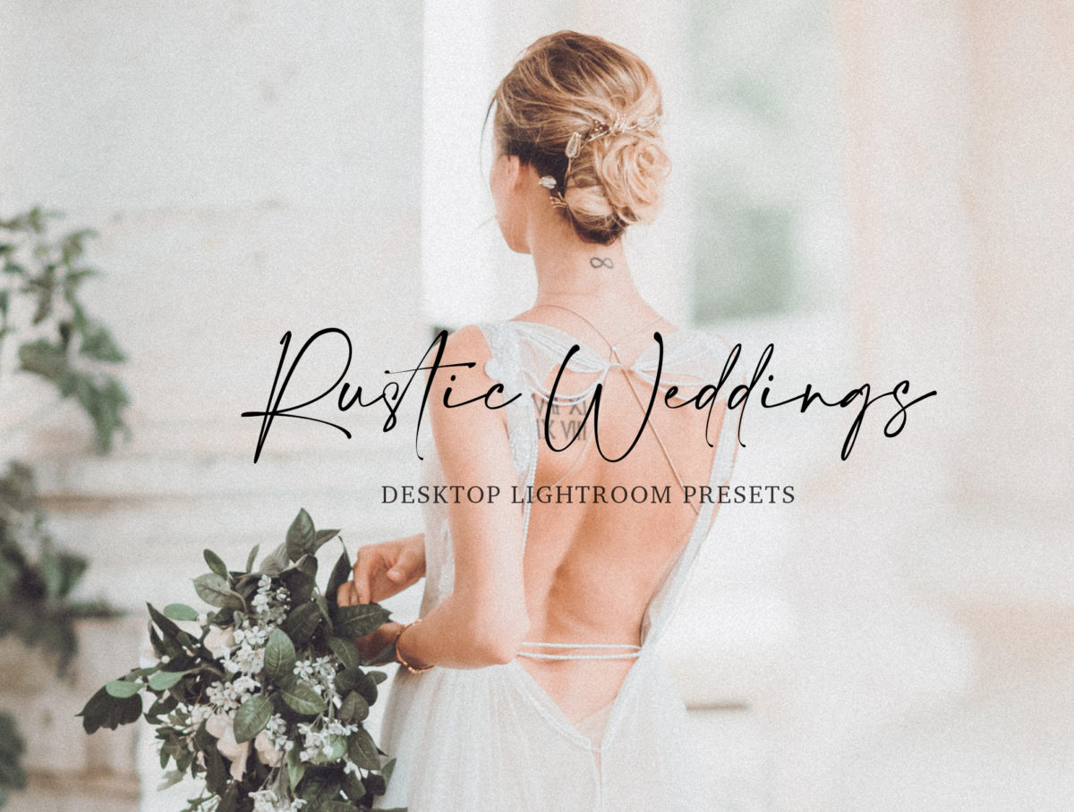 Rustic Wedding Lightroom Presets Collection | Ideal for wedding and lifestyle photographers