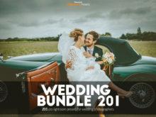 201 Wedding Lightroom Presets Bundle