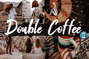 5x Double Coffee Mobile Lightroom Presets