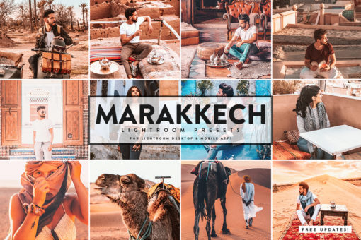 Marakkech Presets For Lightroom Mobile+Desktop