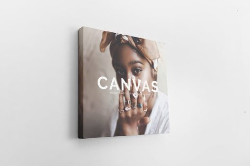 Square Canvas Ratio 1x1 Mockup 04