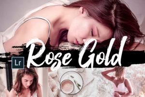 6x Rose Gold Lightroom Presets