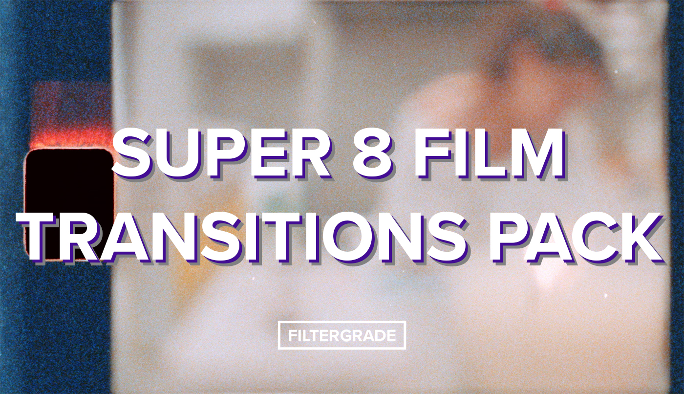 super 8 film transitions