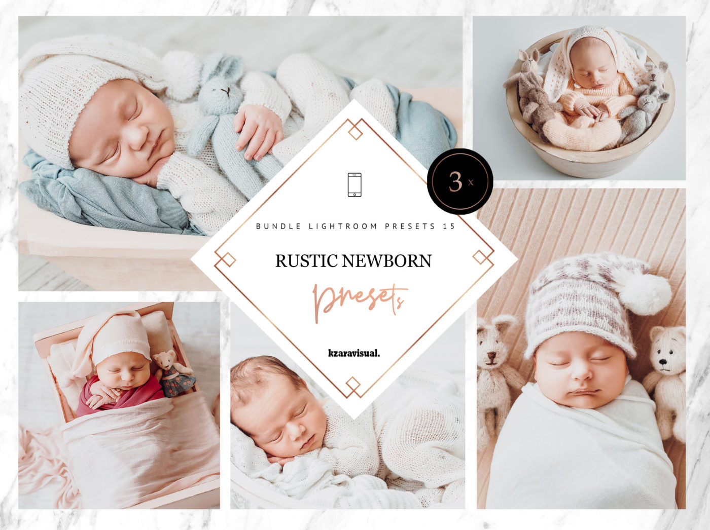 Rustic Newborn Mobile Lightroom Presets