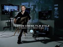 Fashion Cinema Film Styles for Capture One by Maksim Serikow