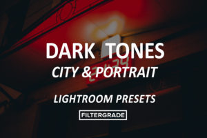 Dark Tones Desktop Lightroom presets by @ph_max