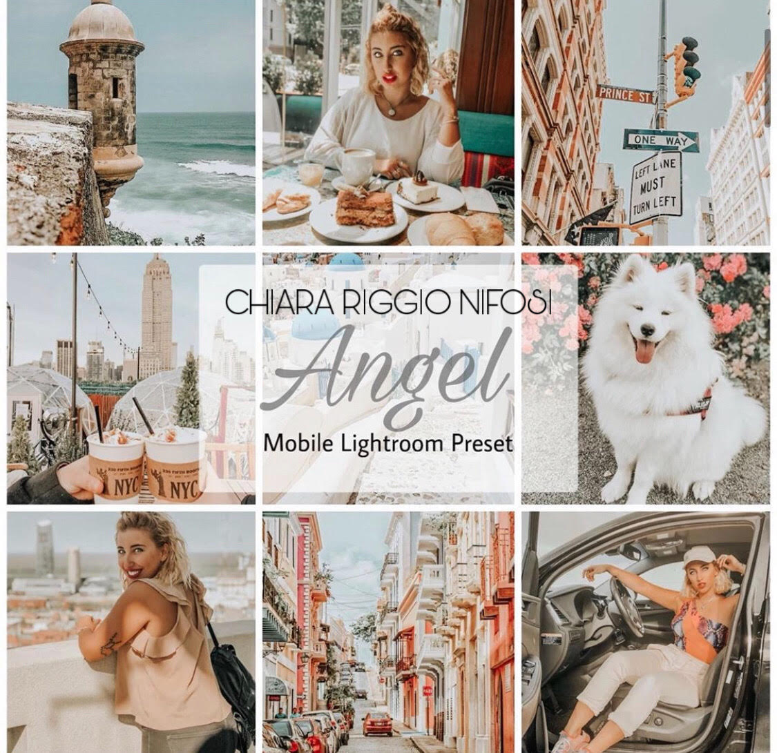 Lucky Angel Mobile Lightroom Preset