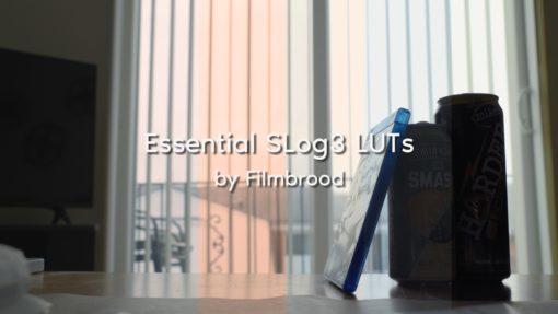 Filmbrood's Essential SLog3 LUTs