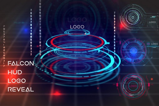 10 Neo Falcon HUD Logo Pack for After Effects