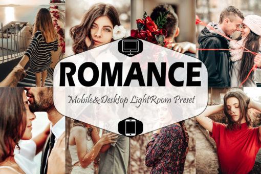 10 Romance Mobile & Desktop Lightroom Presets