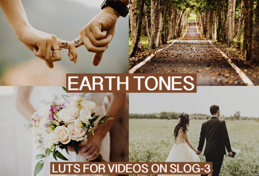 CINEMATIC Earth Tones LUTs Pack for Video