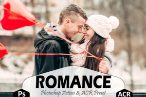 10 Romance Photoshop Actions and LUTs Presets